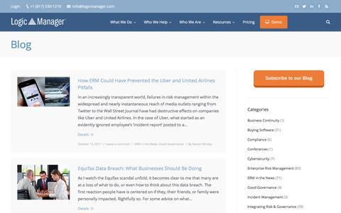 GRC & Risk Management Blog | LogicManager