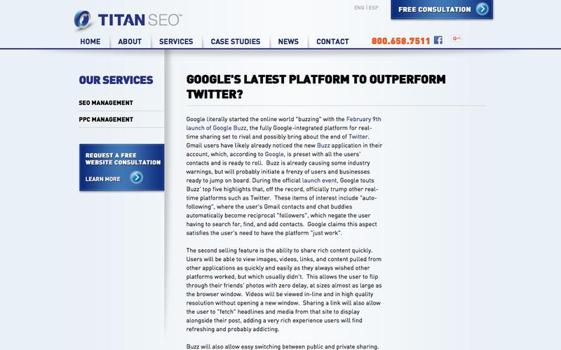 Google's Latest Platform to Outperform Twitter - Titan SEO