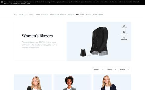 Women's Blazers | Ministry of Supply