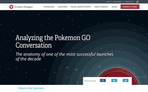 Pokemon Go on Social Media | Trend Analysis with Social Media Data