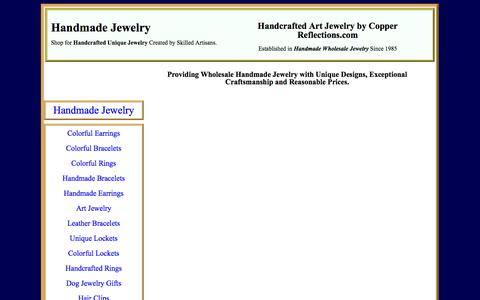 Screenshot of Signup Page copperreflections.com - Sign Up - Copper Reflections Handmade Jewelry News - captured Oct. 1, 2014