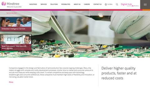 Semiconductor Engineering & Design | Mindtree