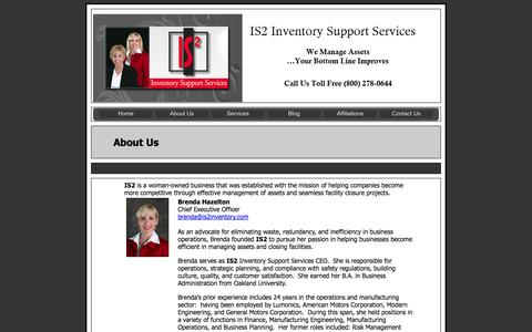 Screenshot of About Page is2inventory.com - IS2 | Inventory Management MI | Inventory Control MI | Inventory Services  MI | Inventory Management Oakland County MI | Inventory Management Wayne County  MI | Inventory Management Macomb County MI - captured Oct. 4, 2014