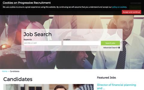 progressiverecruitment.com | Candidates