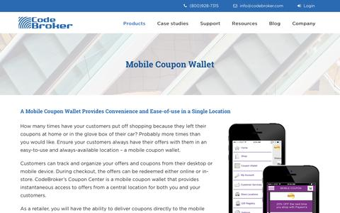 Mobile Coupon Wallet for Retailers Smartphone App