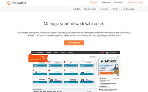 Network Management | Free Network Management Software | Spiceworks