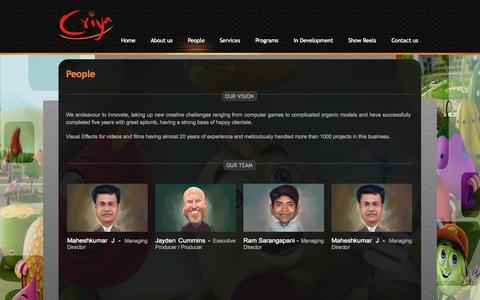 Screenshot of Team Page criya.com.au - People - captured Oct. 3, 2014