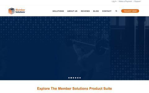 Member Solutions | Online Membership Management Solutions