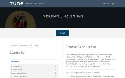 Publishers & Advertisers