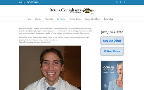 International Fellows | Retina Consultants of Charleston