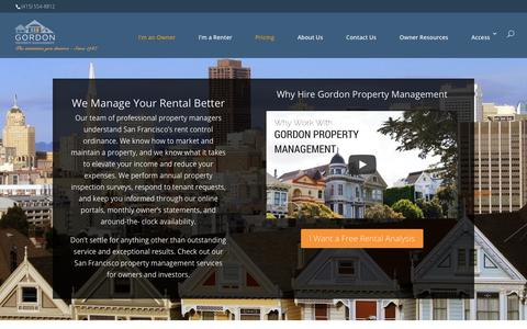 Screenshot of Pricing Page gpmsf.com - San Francisco Property Management Services for Owners and Investors - captured Jan. 5, 2018
