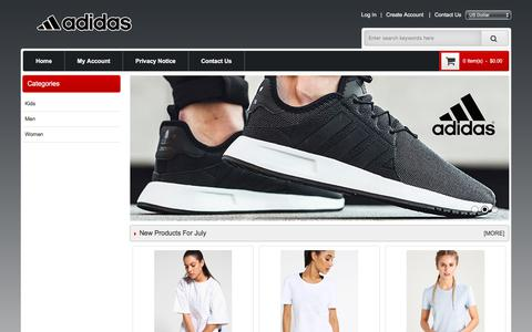 Screenshot of Home Page balboaparkrealty.com - Best Adidas Shoes & Clothing Hot Sale - Adidas New York Online Store - captured Aug. 1, 2018