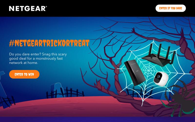 Screenshot NETGEAR Trick or Treat