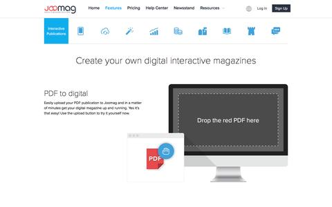 Joomag Innovative Features for an Excellent User Experience