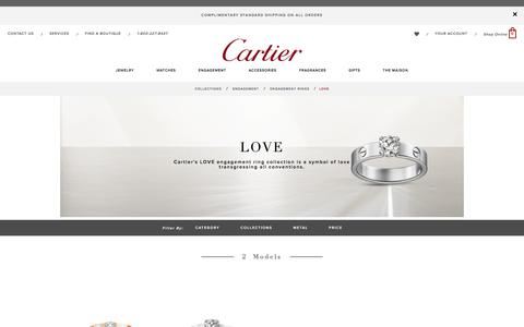 Cartier Love diamond engagement ring: prices and models - Cartier