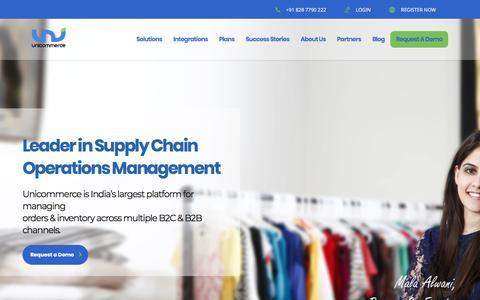 Cloud Based E-commerce Order Management Software   Unicommerce