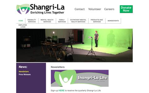 Screenshot of Press Page shangrilacorp.org - News   - captured Oct. 20, 2017