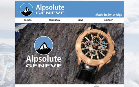 Screenshot of Press Page alpsolute-geneve.ch - Alpsolute-Genève - captured Oct. 4, 2014