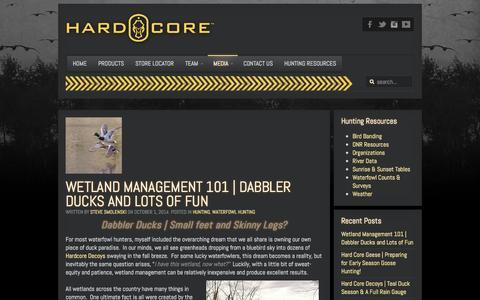 Screenshot of Blog hardcore-brands.com - Hard Core Brands The Landing Zone   Blog - Hard Core Brands - captured Oct. 2, 2014