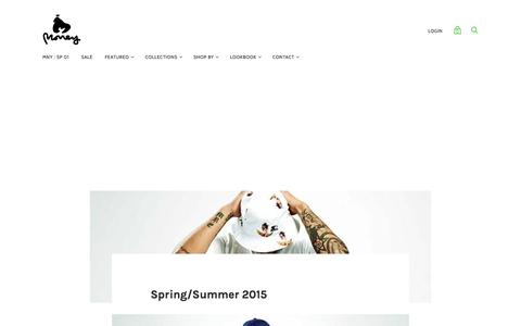 Spring/Summer 2015 — MONEY
