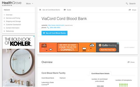 ViaCord Cord Blood Bank - Reviews & Pricing
