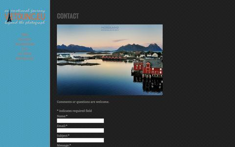Screenshot of Contact Page vietdung.eu - Contact | Viet Dung - captured Feb. 25, 2016