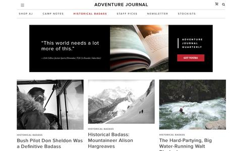 Historical Badass Archives - adventure journal