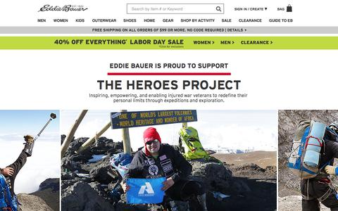 Theheroesproject | Eddie Bauer