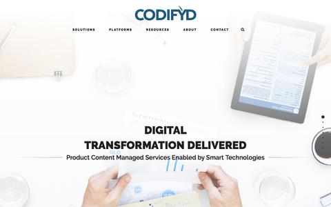 Codifyd – B2B Digital Commerce Services and Software