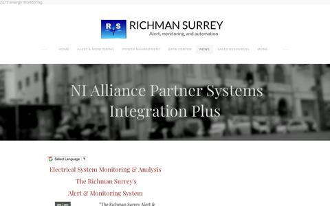 Screenshot of Press Page richmansurrey.com - News - Richman Surrey - captured Oct. 19, 2018