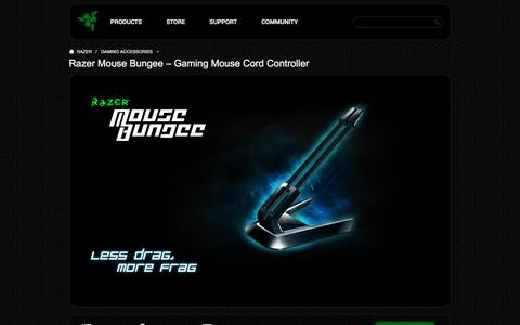 Razer Mouse Bungee Gaming Mouse Cord Controller - Gaming Accessories - Razer United States