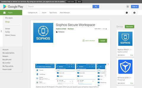 Sophos Secure Workspace - Apps on Google Play