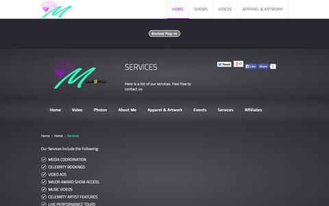 Screenshot of Services Page mindbolic.com - Mindbolic Services - captured Oct. 26, 2014