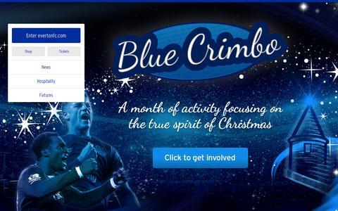 Screenshot of Home Page evertonfc.com - Home   Everton Football Club - captured Dec. 23, 2015