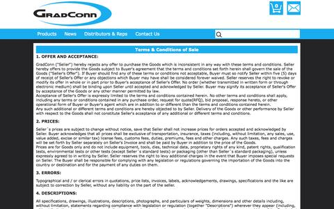 Screenshot of Terms Page gradconn.com - Disclaimer | Information | GradConn - captured Oct. 28, 2014