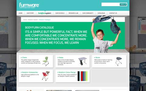 Screenshot of Products Page furnware.co.nz - Bodyfurn Catalogue   Furnware - captured Jan. 8, 2016
