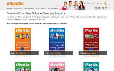 Download Free Guides to Buying Overseas Property