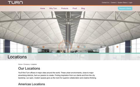 Screenshot of Locations Page turn.com - | Turn - captured Sept. 17, 2014