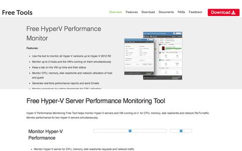 Free Hyper-V Server Performance Monitor - ManageEngine Free Tools