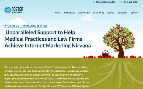 Law Firm Internet Marketing Services | Foster Web Marketing