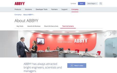 Careers at ABBYY