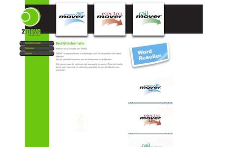 Screenshot of Home Page 2-move.eu - Bedrijfsinformatie - captured Sept. 30, 2014