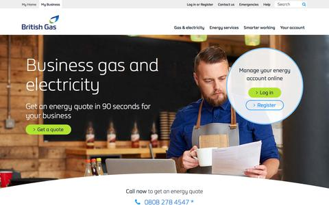 Business Energy | Business Energy Suppliers | British Gas business