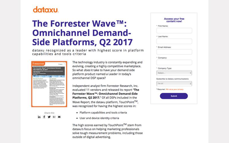 The Forrester Wave: Omnichannel Demand-Side Platforms, Q2 2017