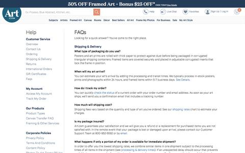Entertainment & Lifestyle FAQ Pages   Website Inspiration and
