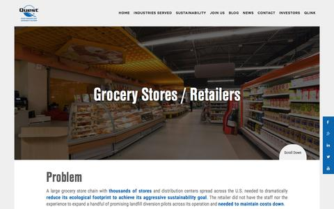 Grocery Stores / Retailers - Quest Resource Management