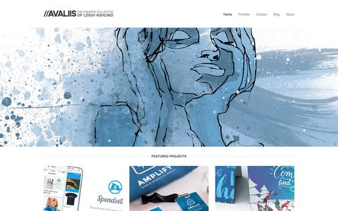Screenshot of Home Page avaliis.com - //AVALIIS - captured Feb. 23, 2016