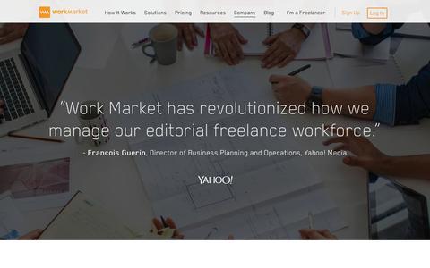 Premium Freelance Management System & Workforce Solutions | Work Market