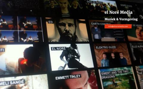 Screenshot of Home Page elnoremedia.com captured Oct. 3, 2014