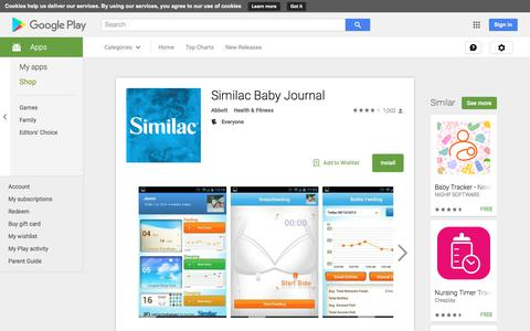 Similac Baby Journal - Android Apps on Google Play
